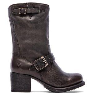 Frye Vera Short Engineer Boot in Gray style #76295